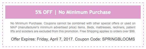 5% OFF Promo Code: SPRINGBLOOMS